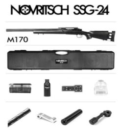 Novritsch SSG24 Rifle Sniper Airsoft - KIT COMPLETO