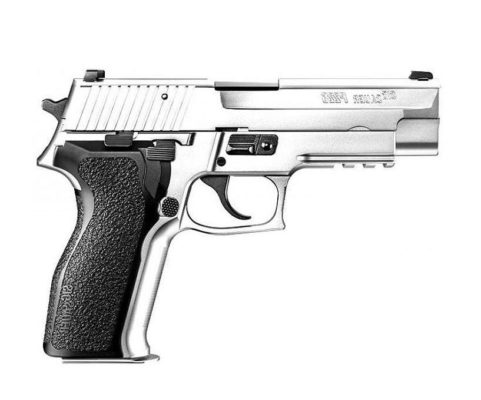 Pistola Cromada Sig Sauer Airsoft P226 Tokyo Marui