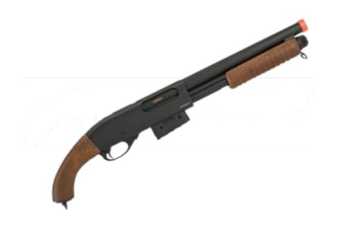 escopeta cano serrado