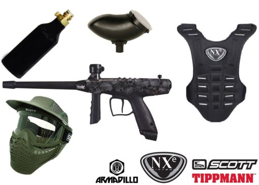 KIT DE PAINTBALL COMPLETO TIPPMANN GRYPHON