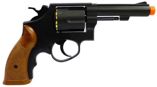 "REVOLVER AIRSOFT A GAS HFC HG-131C 4"" - BLACK"