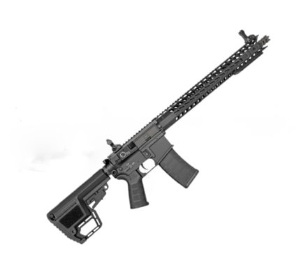 Rifle Carabina Airsoft King Arms M4 TWS Din - Preta