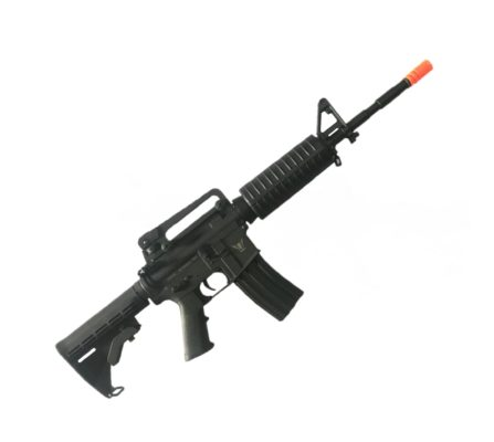 Fuzil GBB Airsoft Rifle Army Armament Aeg M4 - Preto