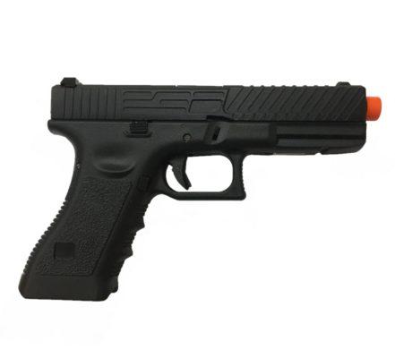 Glock GBB G17 Pistola Airsoft Army Armament R17 - Preta