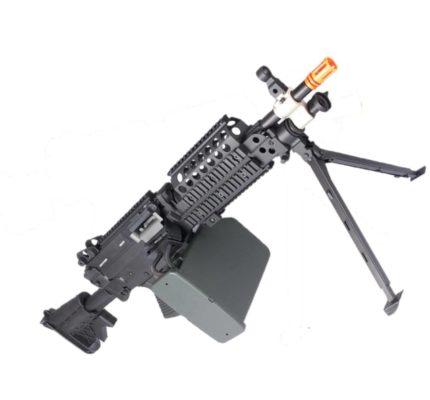 Metralhadora Eletrica Airsoft Cybergun MK46 Fn Herstal