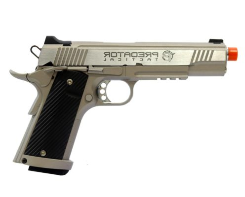 PT 1911 Pistola Airsoft King Arms GBB 6mm - Prata