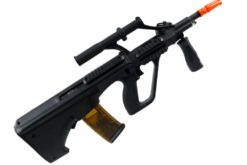 AUG APS AIRSOFT KU904 RIFLE ELÉTRICO - Preto