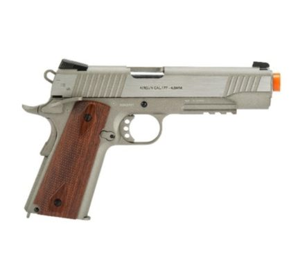 Arma 1911 Cybergun Swiss Arms 4.5mm Co2 - Prata