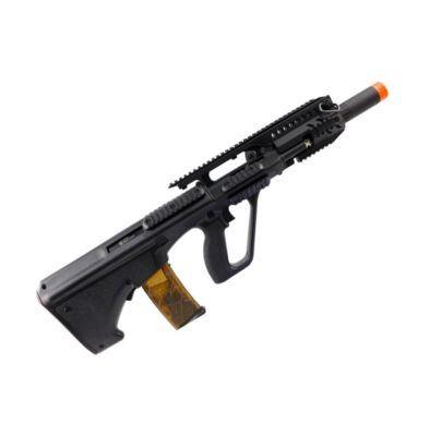 Arma AUG APS Airsoft Elétrica KU905 - Preto