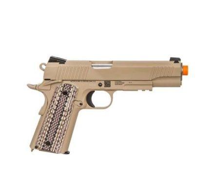 Arma Colt M45A1 / Pistola Cybergun Airsoft Co2 - Desert