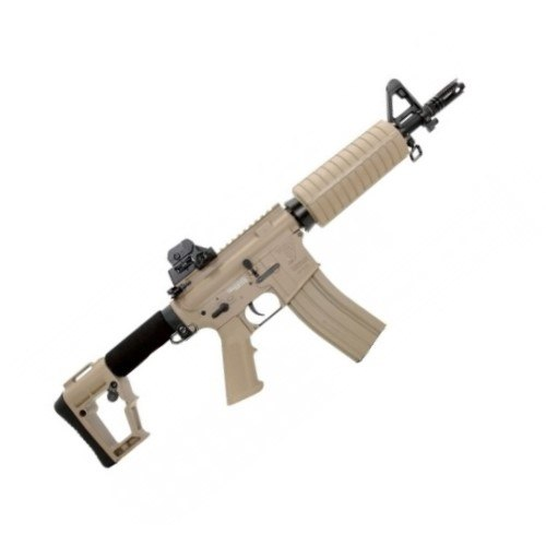 Fuzil Airsoft Full Metal G&G TR4 CQB-H - Tan
