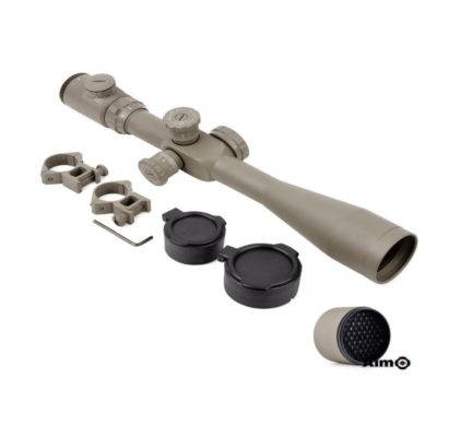 LUNETA AIRSOFT AIM SCOPE 8-32X50E-SF - DESERTE
