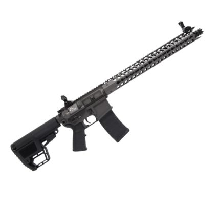 RIFLE AIRSOFT KING ARMS AEG M4 TWS DIN - CINZA