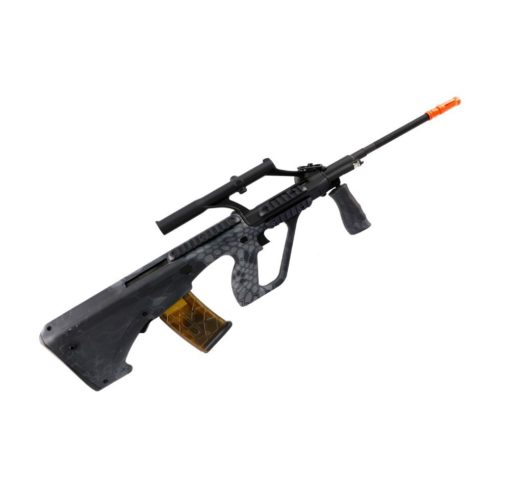 Rifle AUG Airsoft KU902 APS Elétrico - Preto