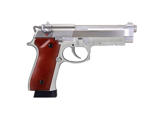 PISTOLA SRC SR92 INOX AIRSOFT 6MM CO2 GBB