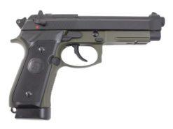 Pistola Airsoft M9 KJW M9A1 GBB 6mm - OD