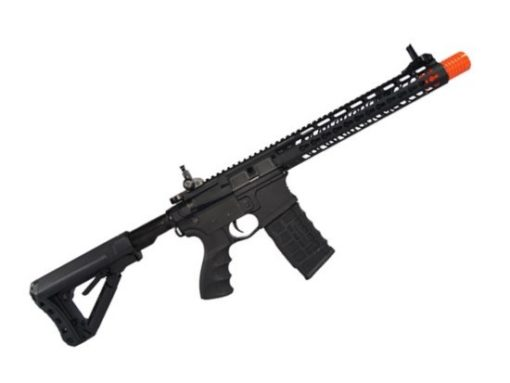"Rifle Airsoft CM16 G&G WILD HOG 12"" AEG 6mm - Preto"