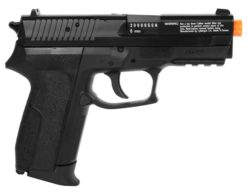 Pistola Sig Sauer SP2022 Co2 Cybergun Airsoft - Preta