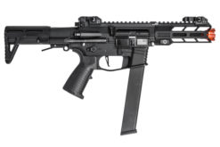 Rifle Airsoft Classic Army Aeg Nemesis X9 6mm - Preto