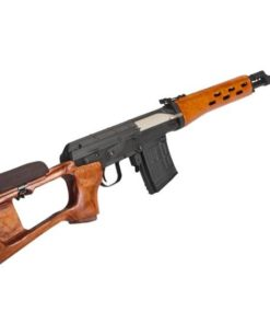 Rifle Airsoft Sniper S&T Armament SVD Dragunov 6mm - Real Wood