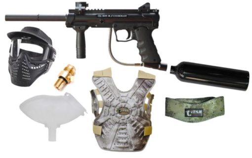 KIT Rifle Marcador Paintball BT4 Slice