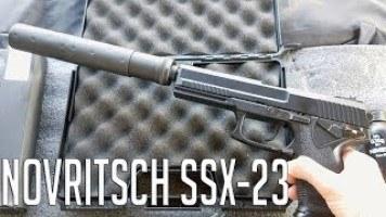 Escolhendo uma Pistola para iniciar no Airsoft - Novritsch SSX-23