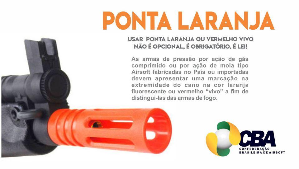 Como Remover a Ponta Laranja - Arma Airsoft - É ilegal? - Airsofts Brasil